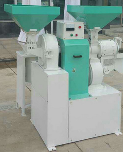 Corn Degermination and Flour Milling Machine Set